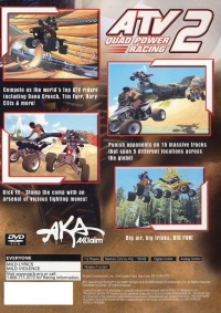 ATV: Quad Power Racing 2 Box Art