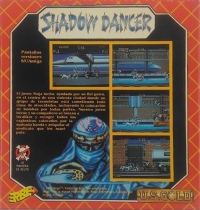 Shadow Dancer (disk) [ES] Box Art