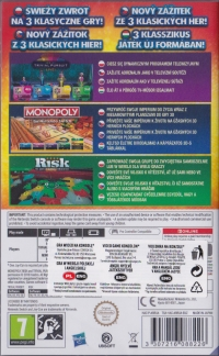 Hasbro Game Night for Nintendo Switch [PL][CZ][SK][HU] Box Art