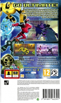 Ben 10 Ultimate Alien : Cosmic Destruction - PSP Essentials Box Art