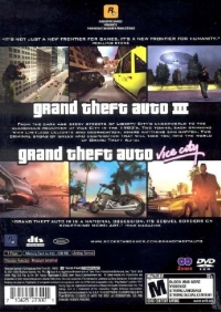 Grand Theft Auto Double Pack - PlayStation 2 [NA] - VGCollect