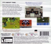 Final Fantasy Chronicles - Greatest Hits (black discs) Box Art
