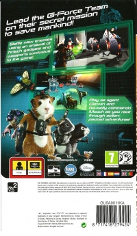 Disney G-Force - PSP Essentials Box Art