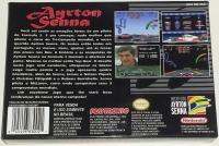 Ayrton Senna F1 Racing Box Art