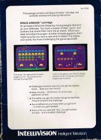 Space Armada (blue box) Box Art