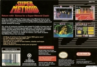 Super Metroid - Player's Choice Box Art