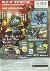 MechAssault (GAME of the YEAR) Box Art