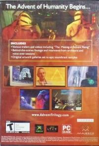 Advent Rising Bonus DVD Box Art