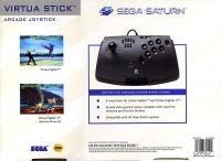 Sega Saturn Virtua Stick Box Art
