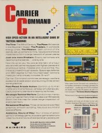 Carrier Command Box Art