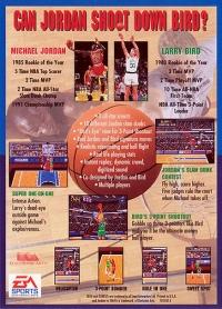Jordan vs Bird (EA Sports) Box Art