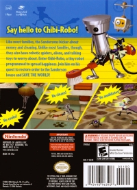 Chibi-Robo! Plug Into Adventure! Box Art