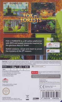 Fox n Forests Box Art