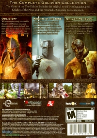 Elder Scrolls IV, The: Oblivion - Game of the Year Edition Box Art