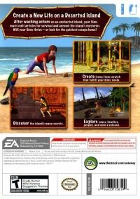 Sims 2, The: Castaway Box Art