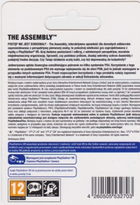Assembly, The (PS4) [PL] Box Art