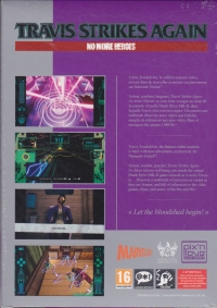 Travis Strikes Again: No More Heroes - Limited Collector's Edition signed by SUDA51 Box Art