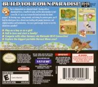 Harvest Moon DS: Island of Happiness Box Art