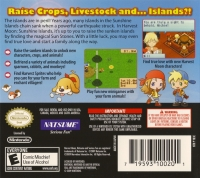Harvest Moon DS: Sunshine Islands Box Art