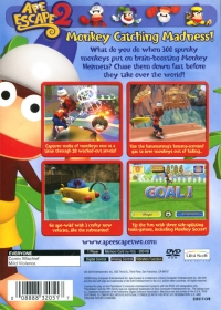Ape Escape 2 Box Art