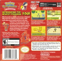Pokémon Mystery Dungeon: Red Rescue Team Box Art