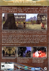 Gothic II Gold Edition Box Art
