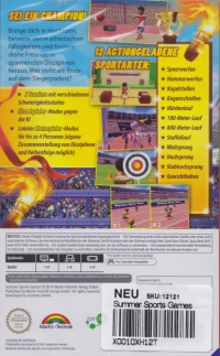 Summer Sports Games [DE] Box Art