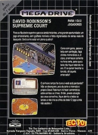 David Robinson's Supreme Court Box Art