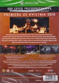 Mortal Kombat 11 - Edycja Przedsprzedażowa Box Art