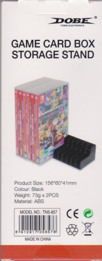 DOBE Game Card Box Storage Stand Box Art