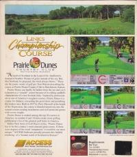 Links Championship Course: Prairie Dunes Country Club Hutchinson, Kansas Box Art