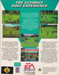 PGA Tour Golf III Box Art