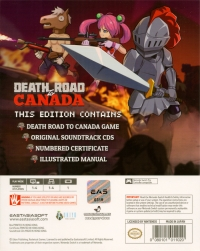 Death Road to Canada - Limited Edition Box Art