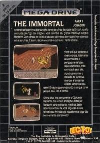 Immortal, The Box Art