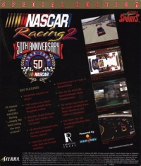 NASCAR Racing 2: 50th Anniversary Special Edition Box Art