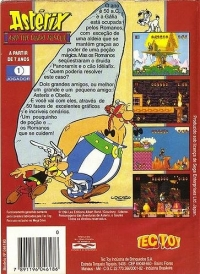 Astérix and the Great Rescue Box Art