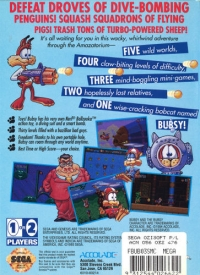 Bubsy II Box Art