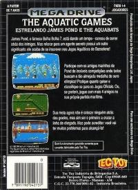 Aquatic Games estrelando James Pond e The Aquabats, The Box Art