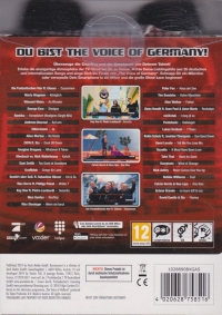 Voice of Germany,The: Das offizielle Videospiel! (+ two microphones) Box Art