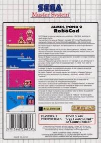 James Pond 2: Codename RoboCod Box Art