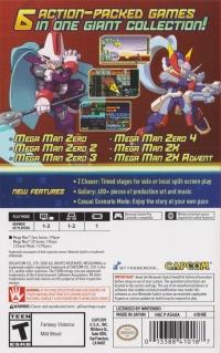 Mega Man Zero / ZX Legacy Collection Box Art
