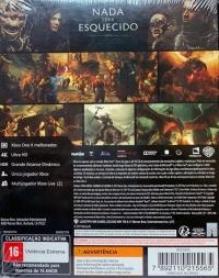Terra Média: Sombras da guerra Box Art