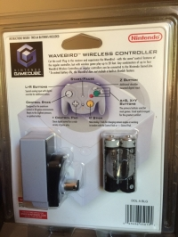 Nintendo WaveBird Wireless Controller (Gray) [NA] Box Art