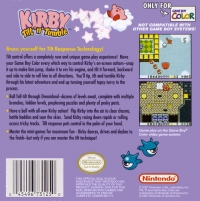 Kirby Tilt 'n' Tumble Box Art