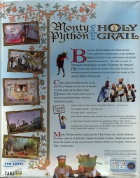 Monty Python & the Quest for the Holy Grail Box Art