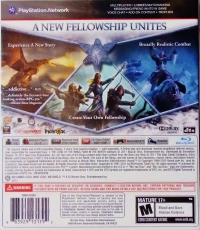 Lord of the Rings, The: War in the North Box Art