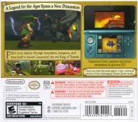Legend of Zelda, The: Ocarina of Time 3D Box Art