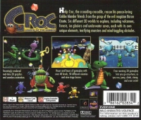Croc: Legend of the Gobbos - Greatest Hits (White ESRB) Box Art