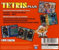 Tetris Plus - Greatest Hits Box Art