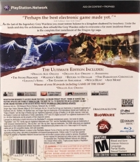 Dragon Age: Origins - Ultimate Edition Box Art